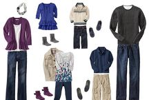 What to Wear Guide / Fashion ideas for your next photo shoot!