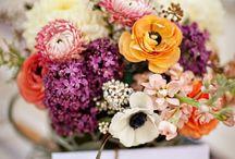 Flowers / Arrangement for Chanthie, Bridemaids, Flower girls etc