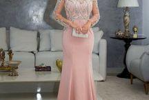 Vestido rose mandrinha