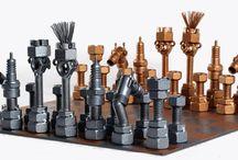 Metaldiorama / Metal Art Sculpture