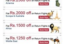 Discount on International Flights