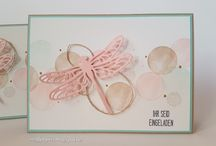 Stampin up Libelle