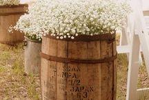 Whiskey Barrel Ideas