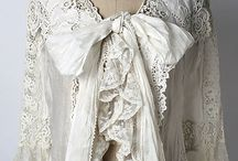 Antique bed jackets