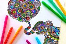 creatividad/ mandalas