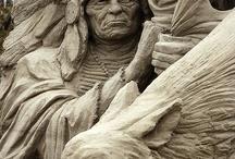 pískové sochy