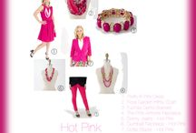Hot Pink! / Add a Pop of Color!  Hot Pink!