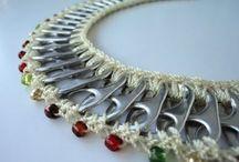 alluminio e crochet