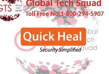 quick heal antivirus support