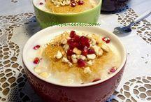 Sütlü tatlılar / Turbu sütleç,lezzetin iki katlı halı.
