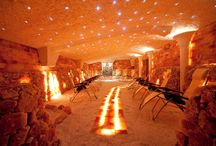 Solana Wellness  &  SPA / groty solne. sauny solne, aranżacje solne salt caves, salt saunas, interior decor