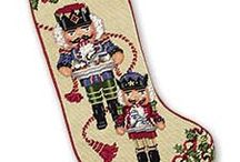 Nutcracker Christmas / Ballerinas, snowflakes, nutcrackers, peppermint, Christmas stockings, Christmas tree skirts, ornaments, and more! All the magic of the beloved Christmas Ballet.