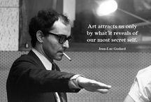 Jean-Luc Godard / A mythic name in cinema: posters, publications, clips, film titles, stills and photos / by Rick Poynor