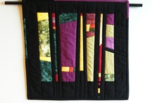 Quilt art abstract