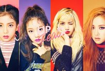 BLACKP!NK / BLACKPINK from YG .Ent  JENNIE Jisoo Lisa RosE   im? fans BLACKPINK is 'BliNK' ^^
