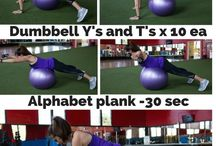 Workout Plans and Fitness / Workout plans to help you gain muscle, lose weight, tone, and get healthy! These workouts can be done at home or on the go. Only body positivity here!