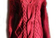 свитера спицами
