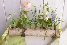 Dekoration Frühling