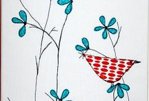 Applique and Embriodery / How to, patterns and ideas.