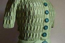 Pulls en tricot femmes-hommes-enfants