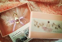 My works ---Ballerina broaches and accessories.