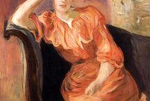 Berthe Morisot / Impressionist French (1841-1895)