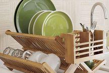 stylish dish rack