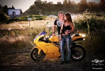 Engagement session (motorcycle)
