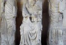 Paolo di Giovanni: Madonna col Bambino e i S. Pietro e Paolo / Prima metà XIV secolo. Da Porta Romana. Firenze, Bargello