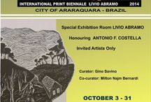 Exhibits! Printmaking! Exhibits! Art! / Printmaking, fine art exhibits around the US and other countries that are exhibiting my work.