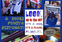 Super Hero Party Ideas / by Claudia George
