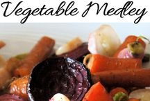 Eat Your Veggies / Vegetable recipes. Side dish and main dish. Meatless Monday. Salad recipes.