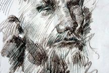 Karakalem ve portre