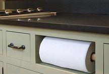 Porta toalha de papel embutido