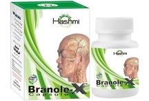 BRANOLE-X FOR BOOSTING MEMORY / Hashmi Branole-X is a natural memory enhancer which boosts memory power and treats problems related to stress.