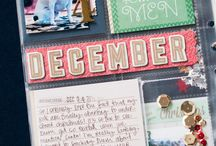 Stampin' Up! - December Daily ideas / ideas to do a Project Life December daily album