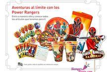 Fiesta de Power Rangers / Ideas y artículos para que organices la mejor fiesta de los Power Rangers.