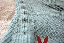 Knit blocking