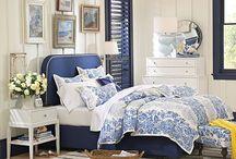 BLUE AND WHITE ROOMS / Blue and white rooms / by SSDB