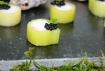 2015 Luxury Summer Canapés / Fresh from our kitchen the Chefs latest creations!