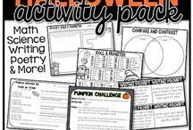 October / Teaching Resources for the month of October. You can find books, products, teaching tools, anchor charts, printables, blog posts and so much more!
