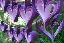 purple decorations