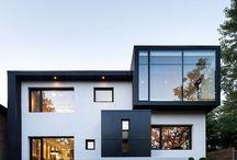 Häuserfront Fenster