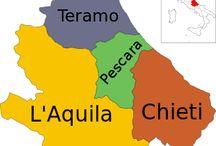 ABRUZZO,   CAP:  L'AQUILA / Provincias:  Aquila Chieti Pescara Teramo