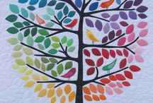 Quilts, Leaves and Trees