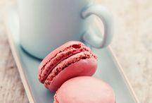 Macarons en high tea