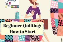 Beginner Quilter, how to start