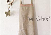 """""""mit-Sahne"""" Kleider, Schürzen, Röcke, Upcycling, ..."""