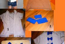 DIY - vyzkoušeno / oblečení, doplňky