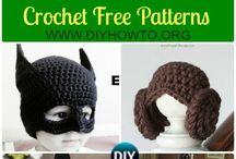 Crochet - halloween hats